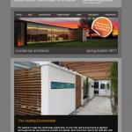 nicolas tye architects | spring newsletter 2011