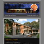 nicolas tye architects | christmas newsletter 2011