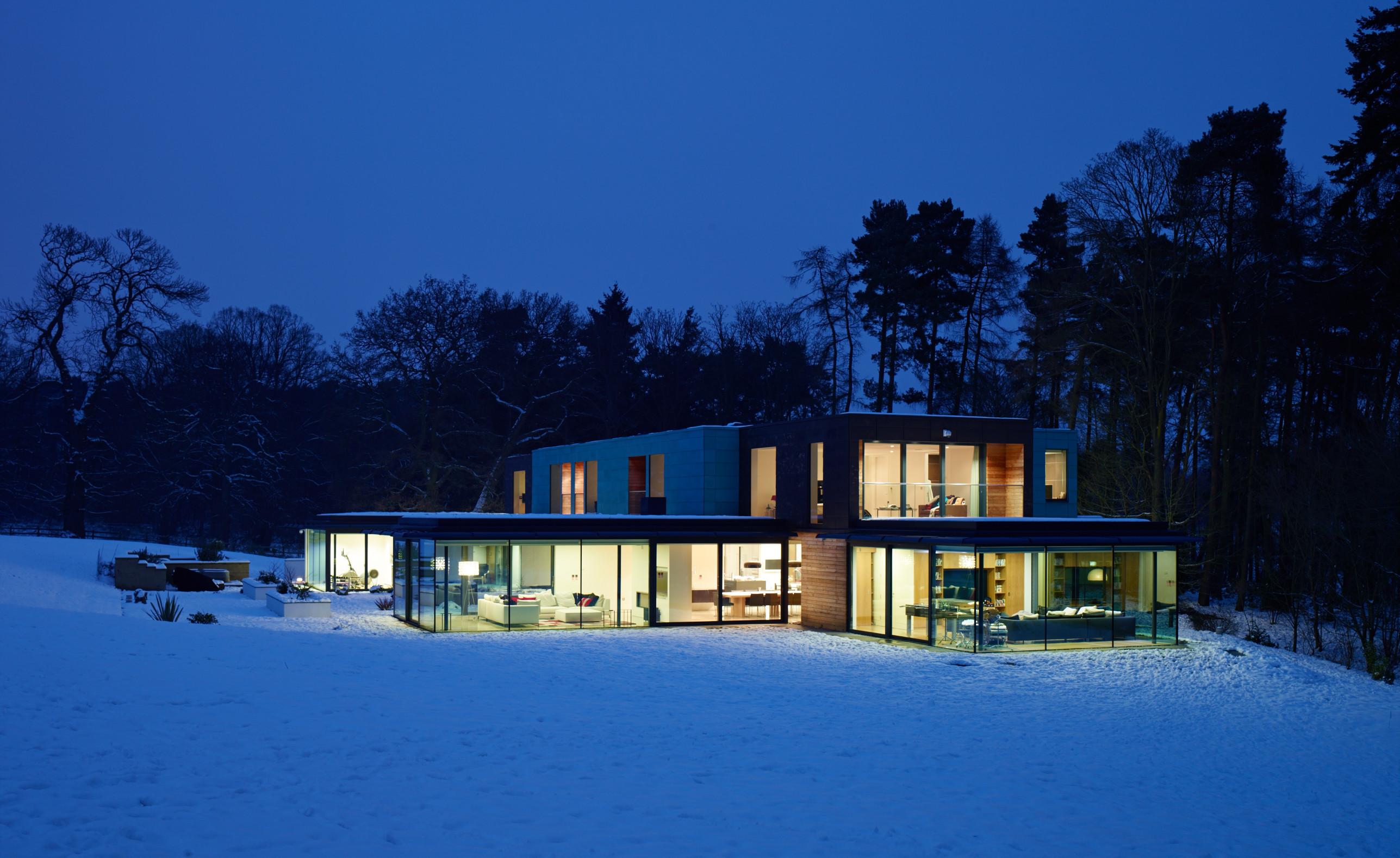 stockgrove house buckinghamshire nicolas tye architects. Black Bedroom Furniture Sets. Home Design Ideas