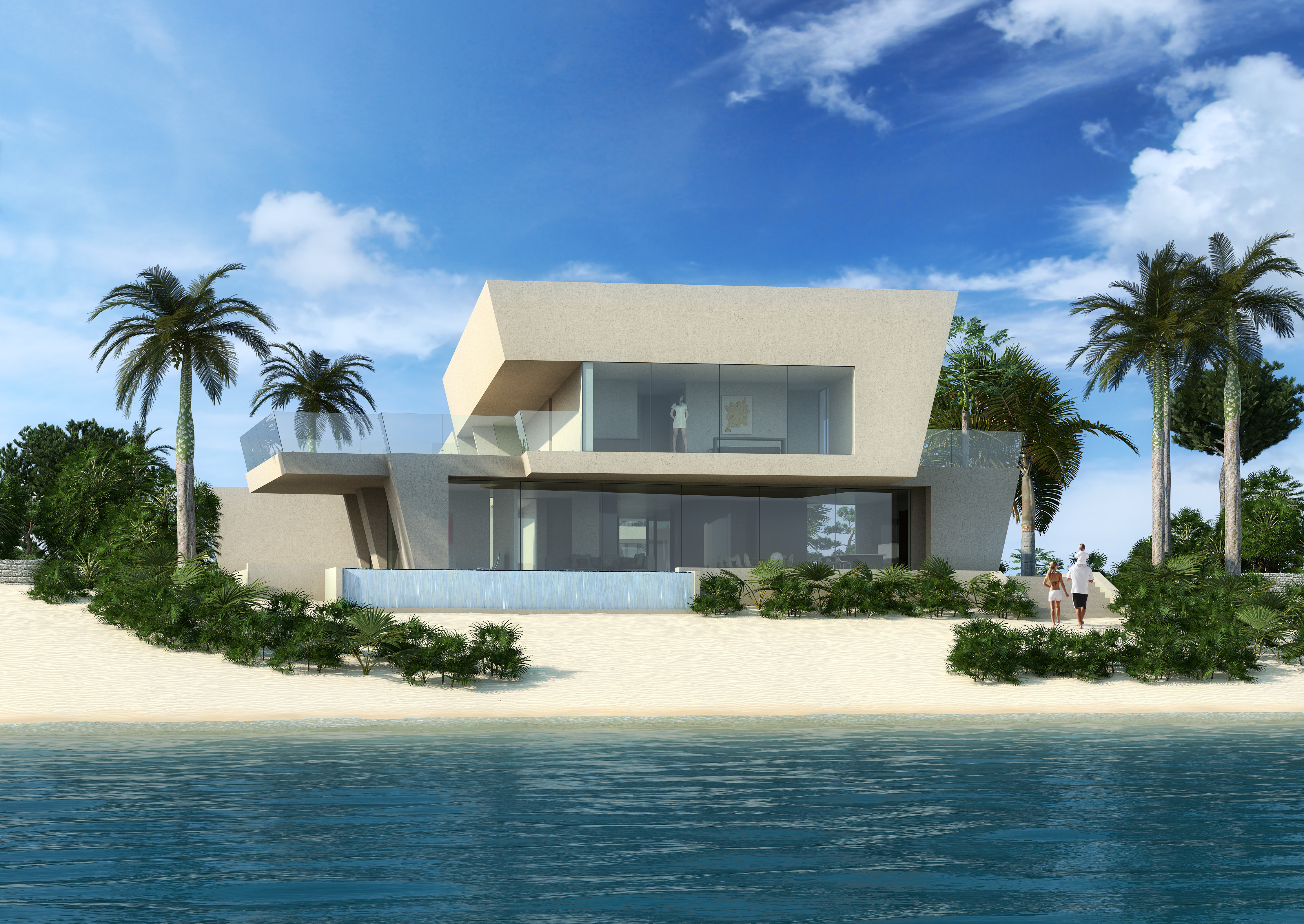 Rum point house cayman island nicolas tye architects for Houses images pictures