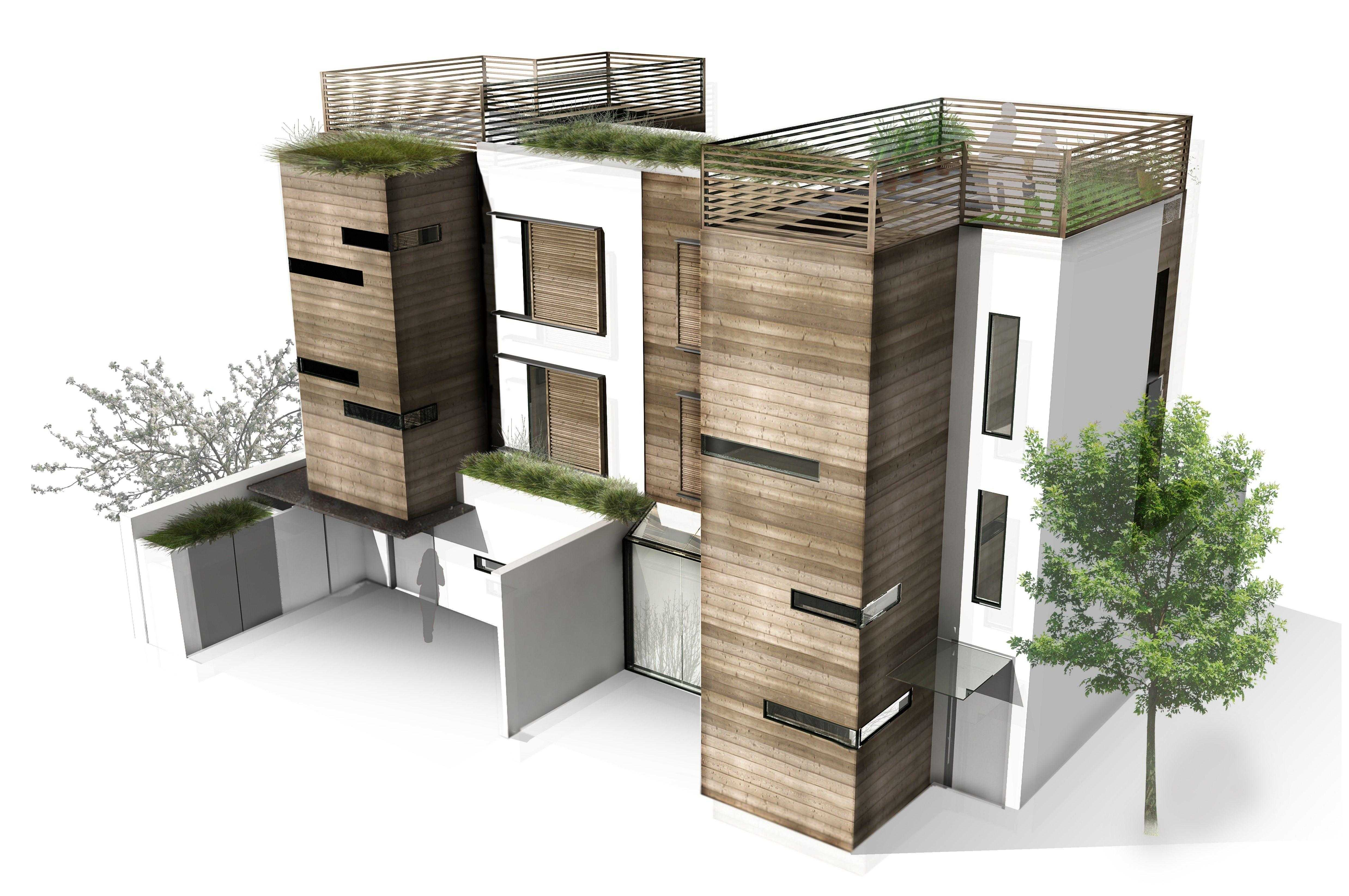 Healthy house concept and masterplan nicolas tye architects for Concept homes