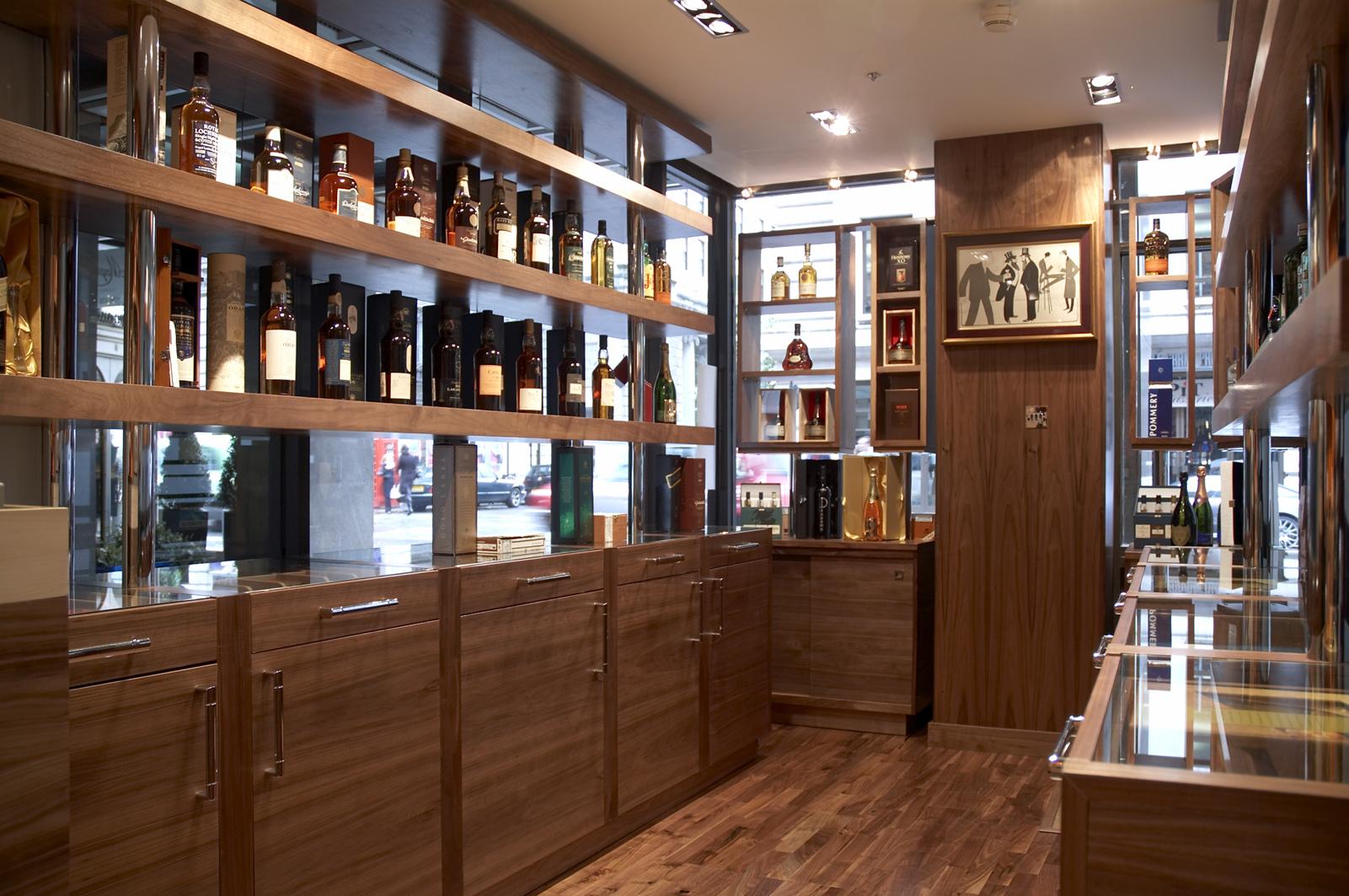 Mayfair Whisky Shop London Nicolas Tye Architects
