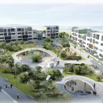 tomorrows townhouse concept and masterplan