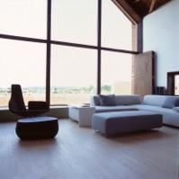 Inside Then Long Barn, Nicolas Tye Architects
