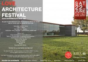 Love Architecture Invite-Poster 2013
