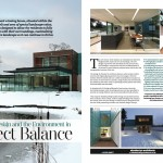 Stockgrove house editorial in Life magazine