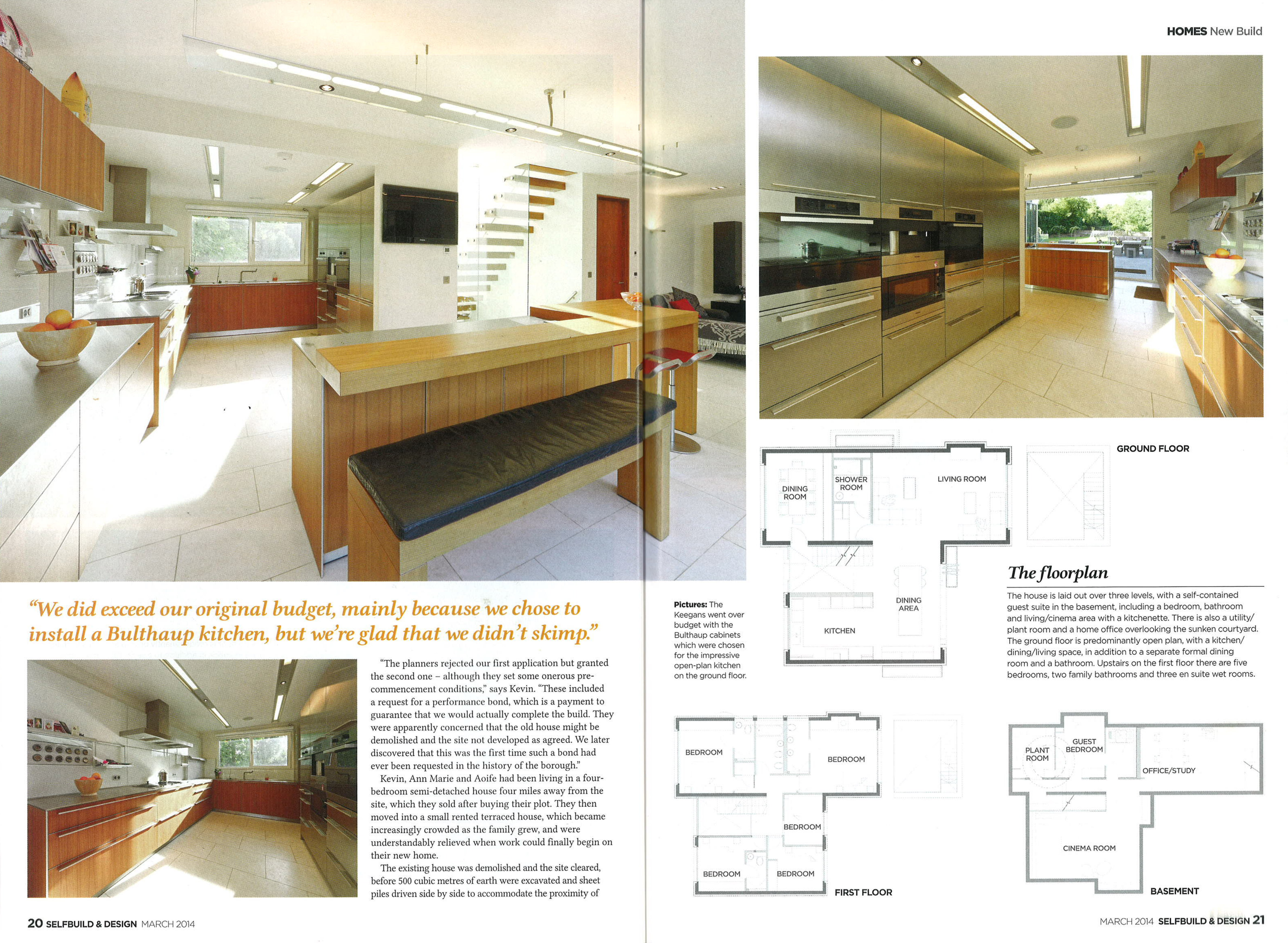 Patchetts Green House Editorial In Selfbuild Design