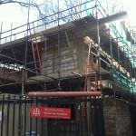 Progress on cruickshank street
