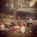 Picnic in the studio meadow!