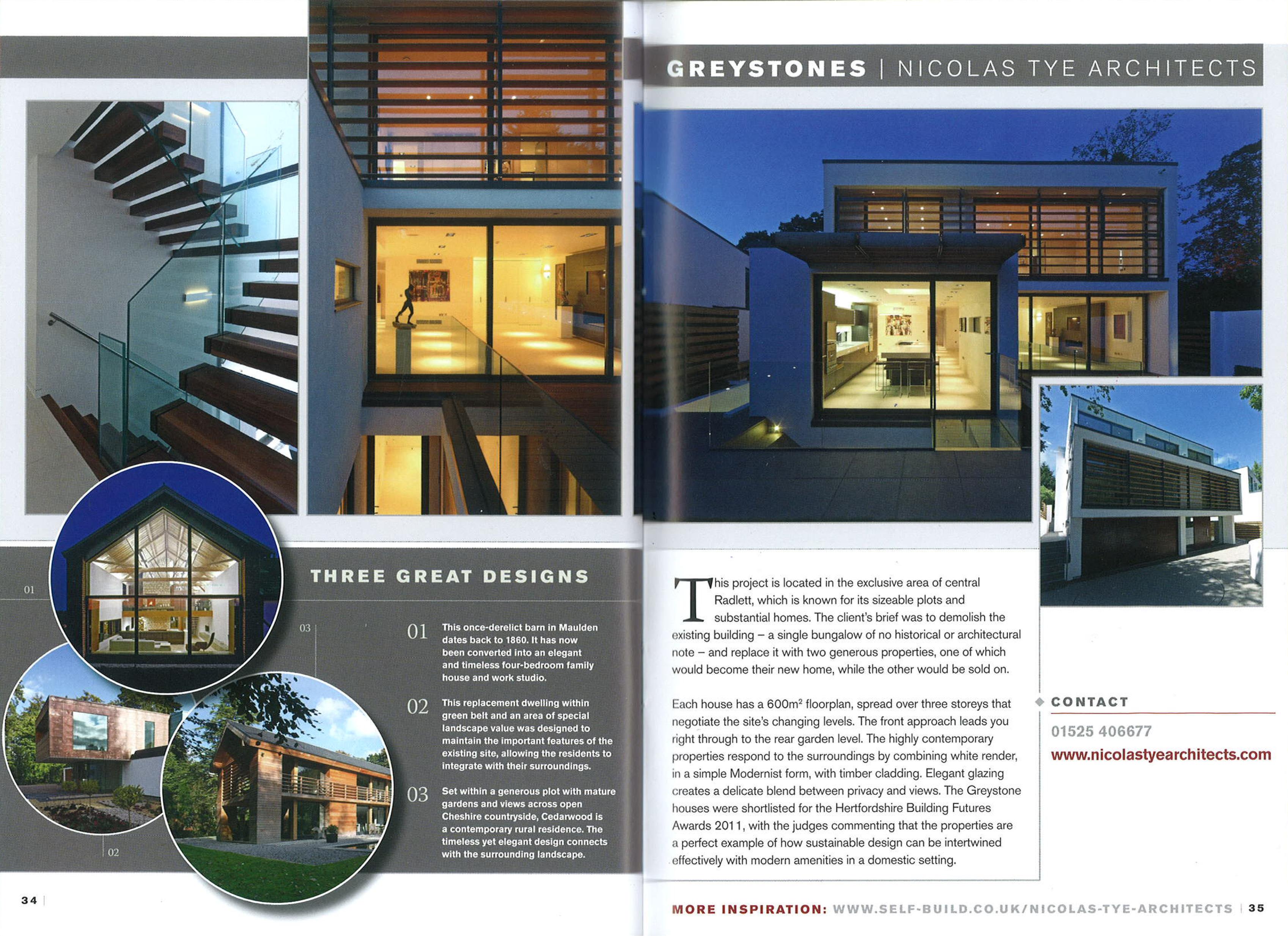 greystones selfbuild design 2015 nicolas tye architects. Black Bedroom Furniture Sets. Home Design Ideas
