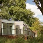 Eco lodges, Clophill