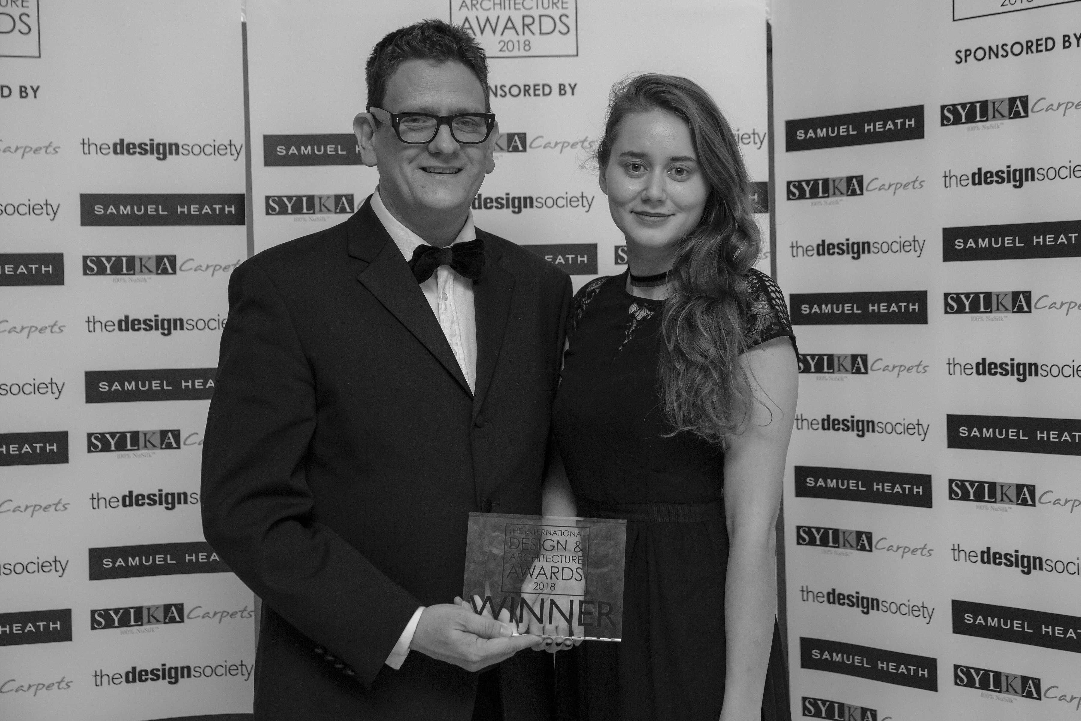 image of team at international design & architectural awards