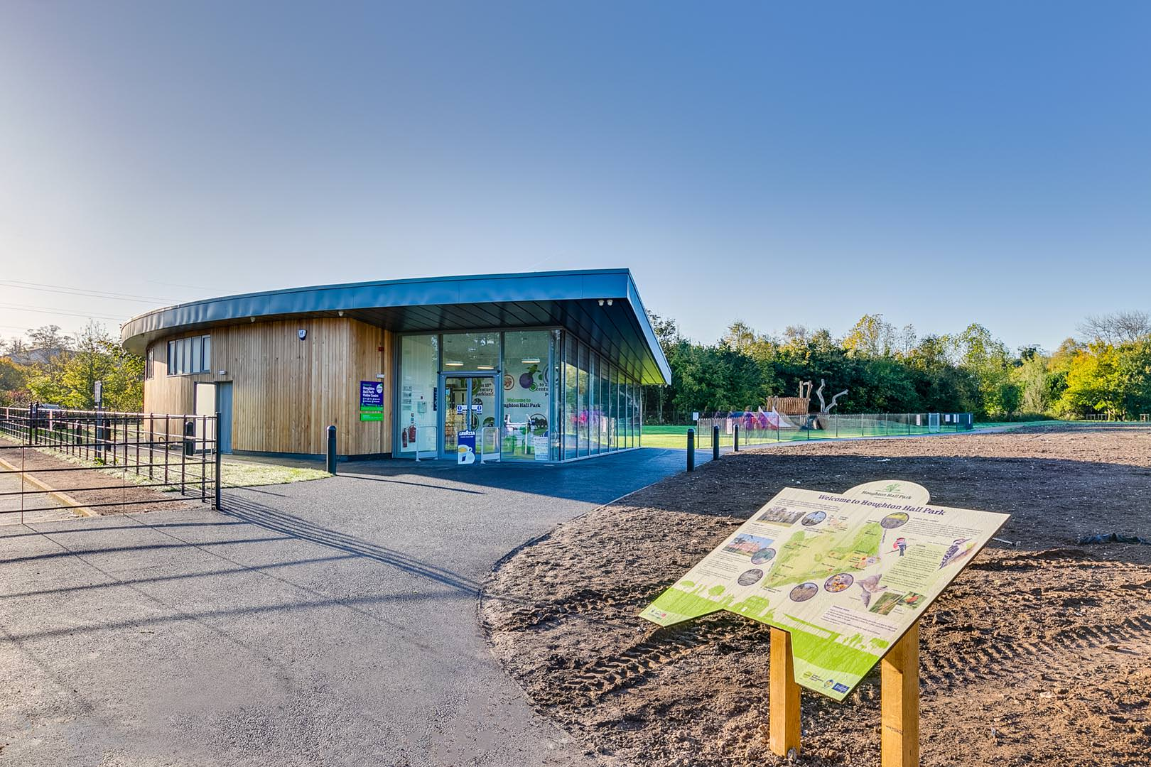 Houghton Hall Visitors centre-3
