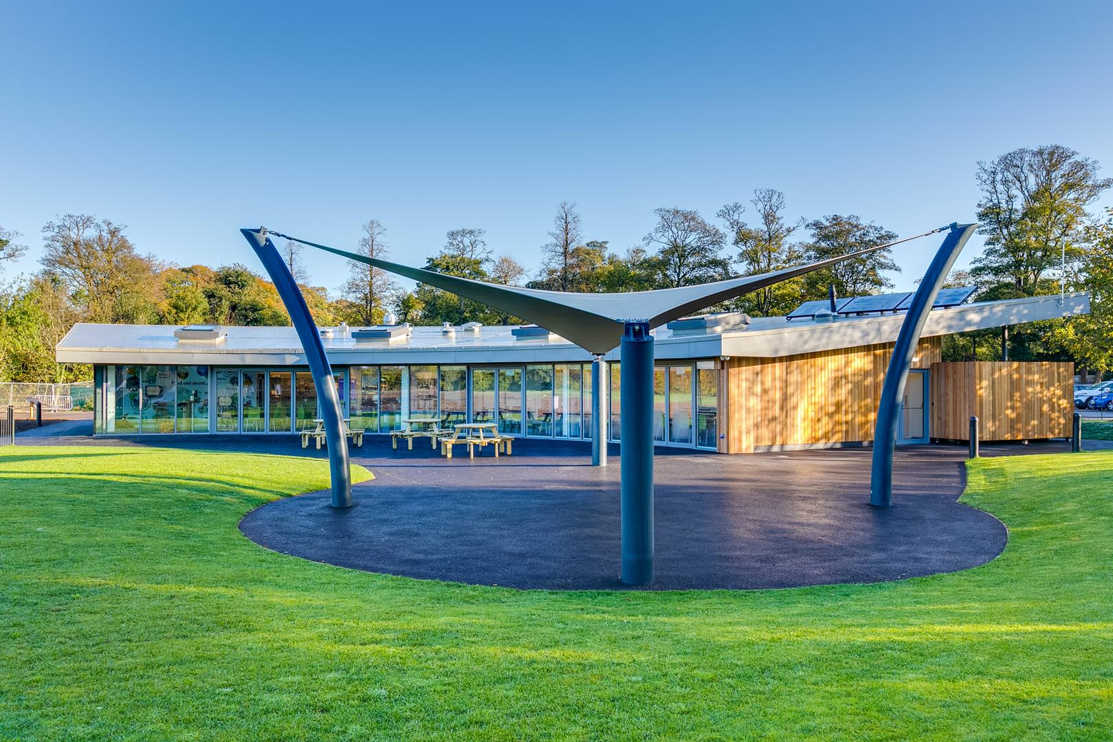 Houghton Hall Visitors centre-6