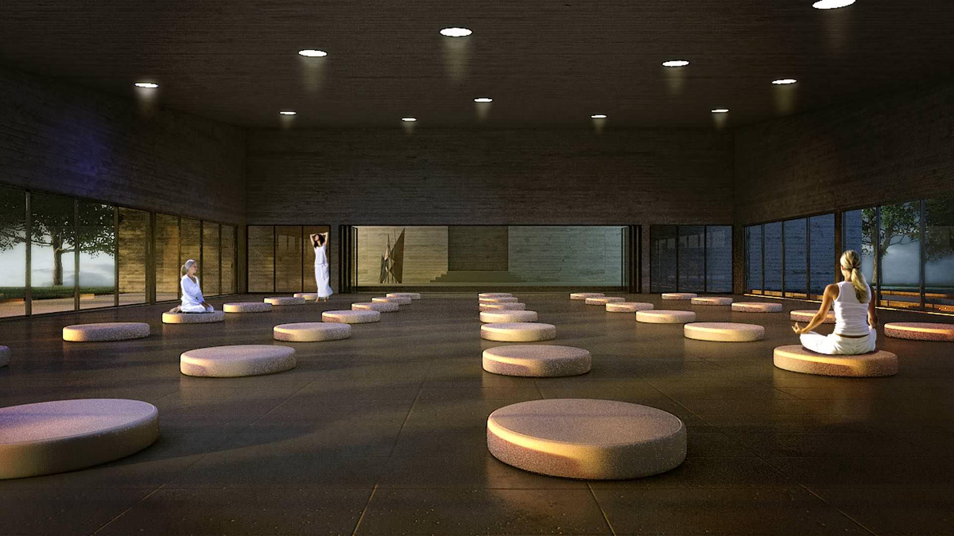 1426 meditation centre internal