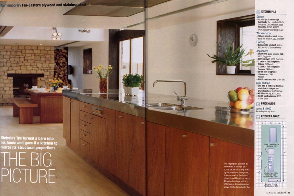 """The Long Barn"" – 25 Beautiful Kitchens"