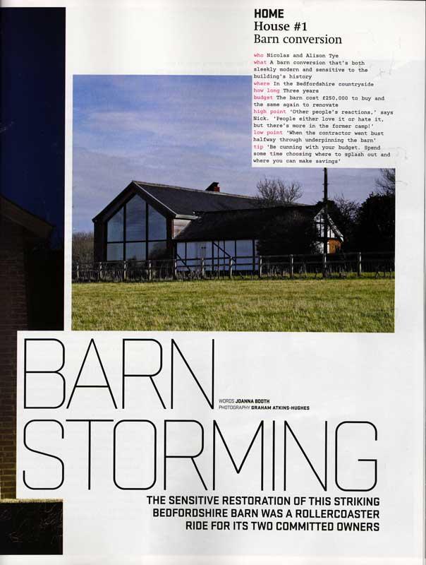 The Long Barn – Homebuilding & Renovating