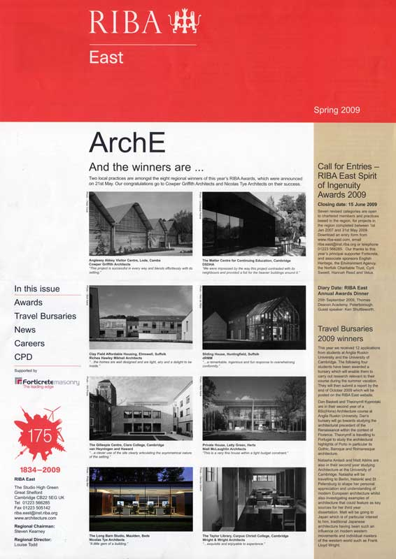 The Long Barn Studio – RIBA Publication
