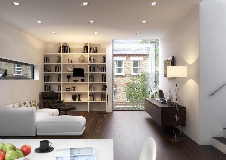 Islington House - interior-west plot