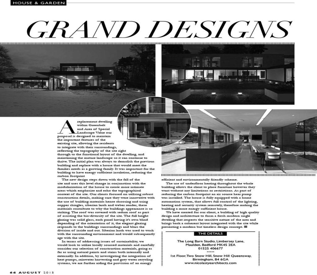 Nicolas Tye – House & Garden