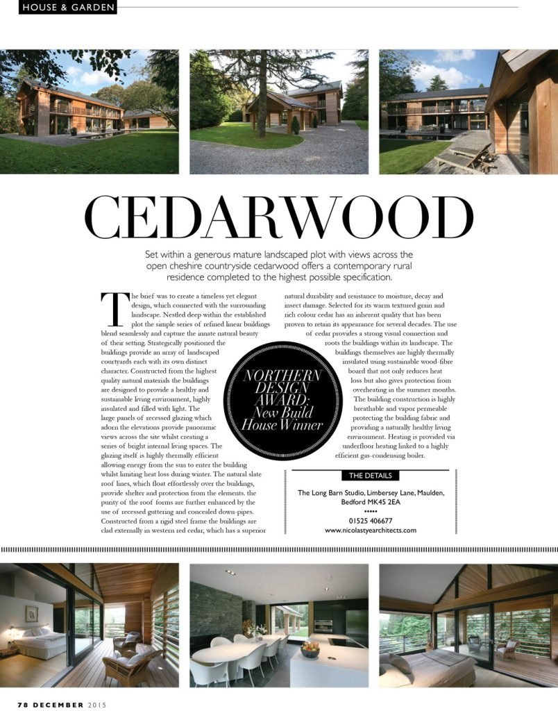Knutsford House – House & Garden