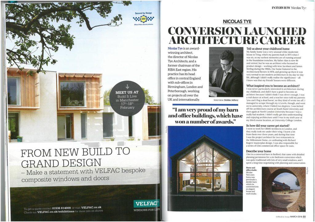 Nicolas Tye – Self Build Magazine