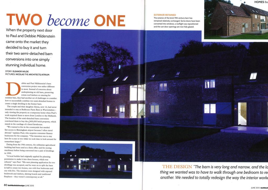 Warwickshire Barn – Self Build and Design Magazine