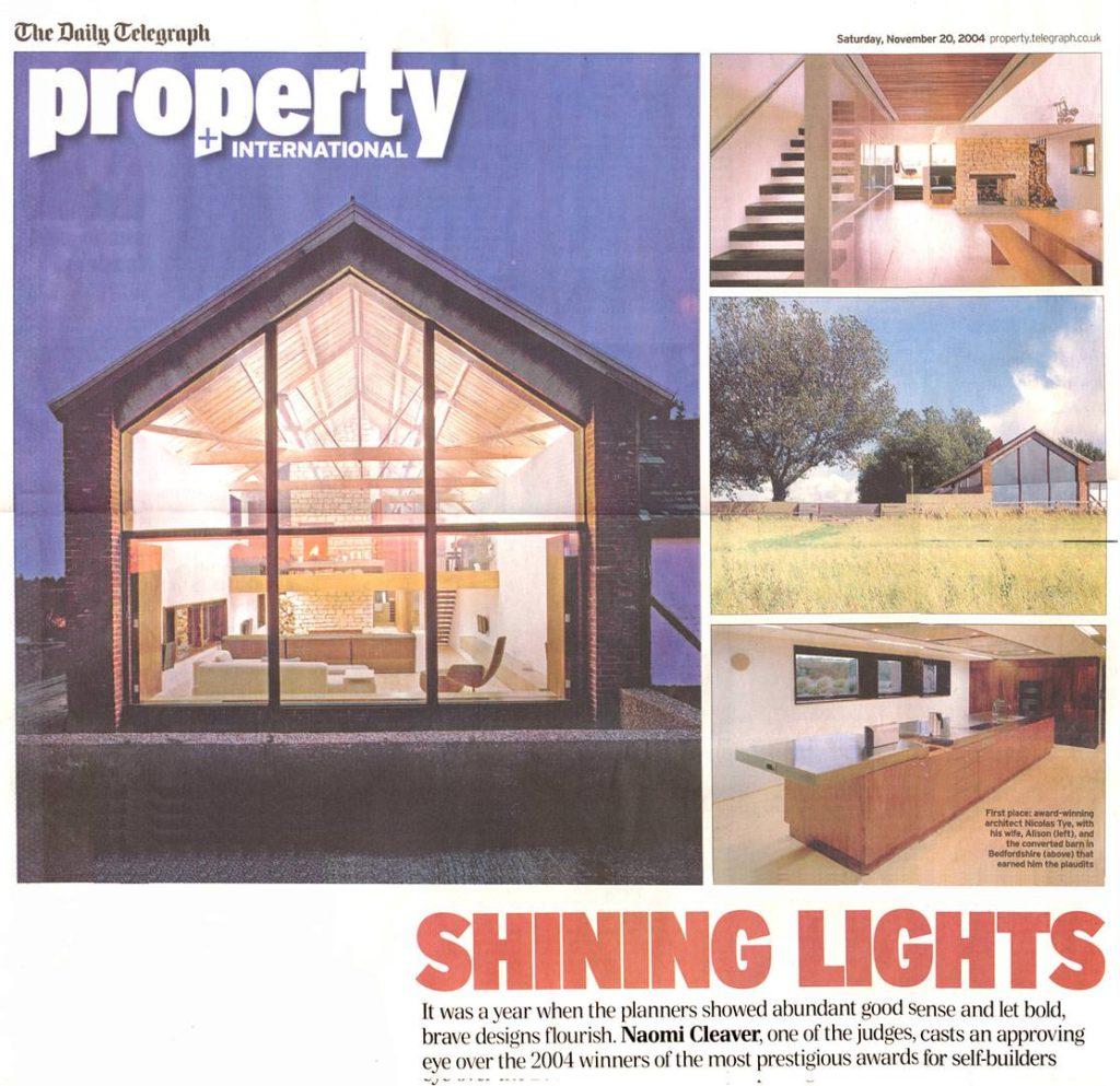 The Long Barn – Daily Telegraph