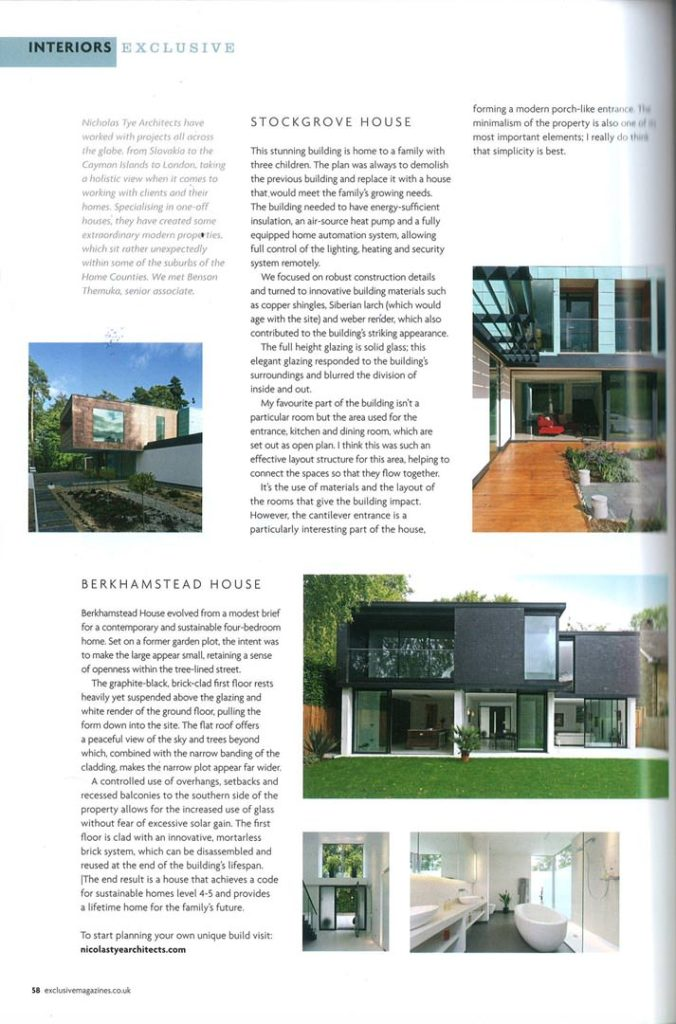 Leighton Buzzard House & Bexhill House – Exclusive Magazines