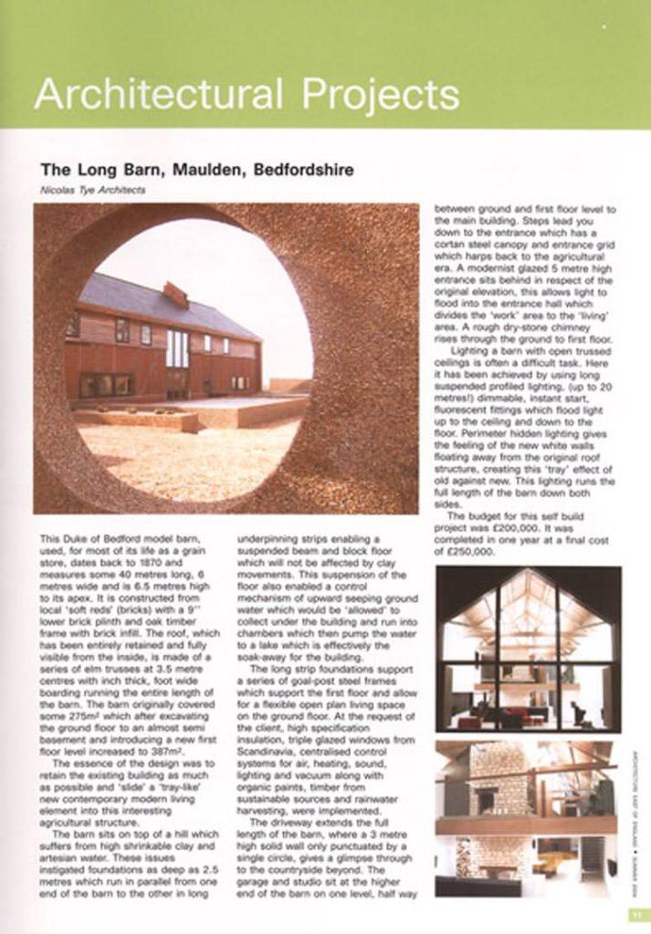 The Long Barn – RIBA Publications